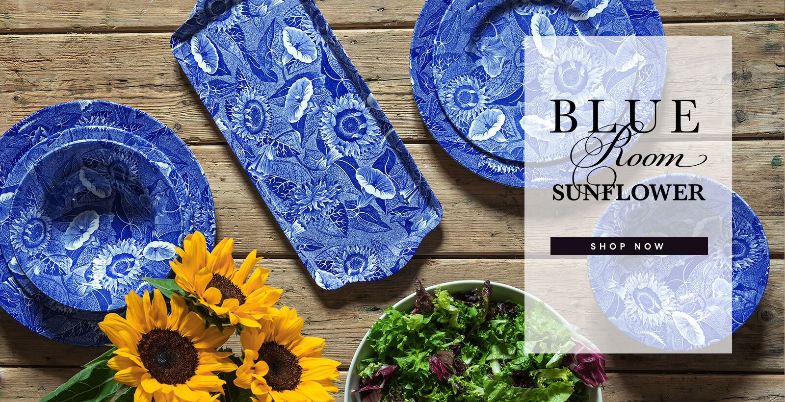 Shop The Blue Blue Room Sunflower Collection