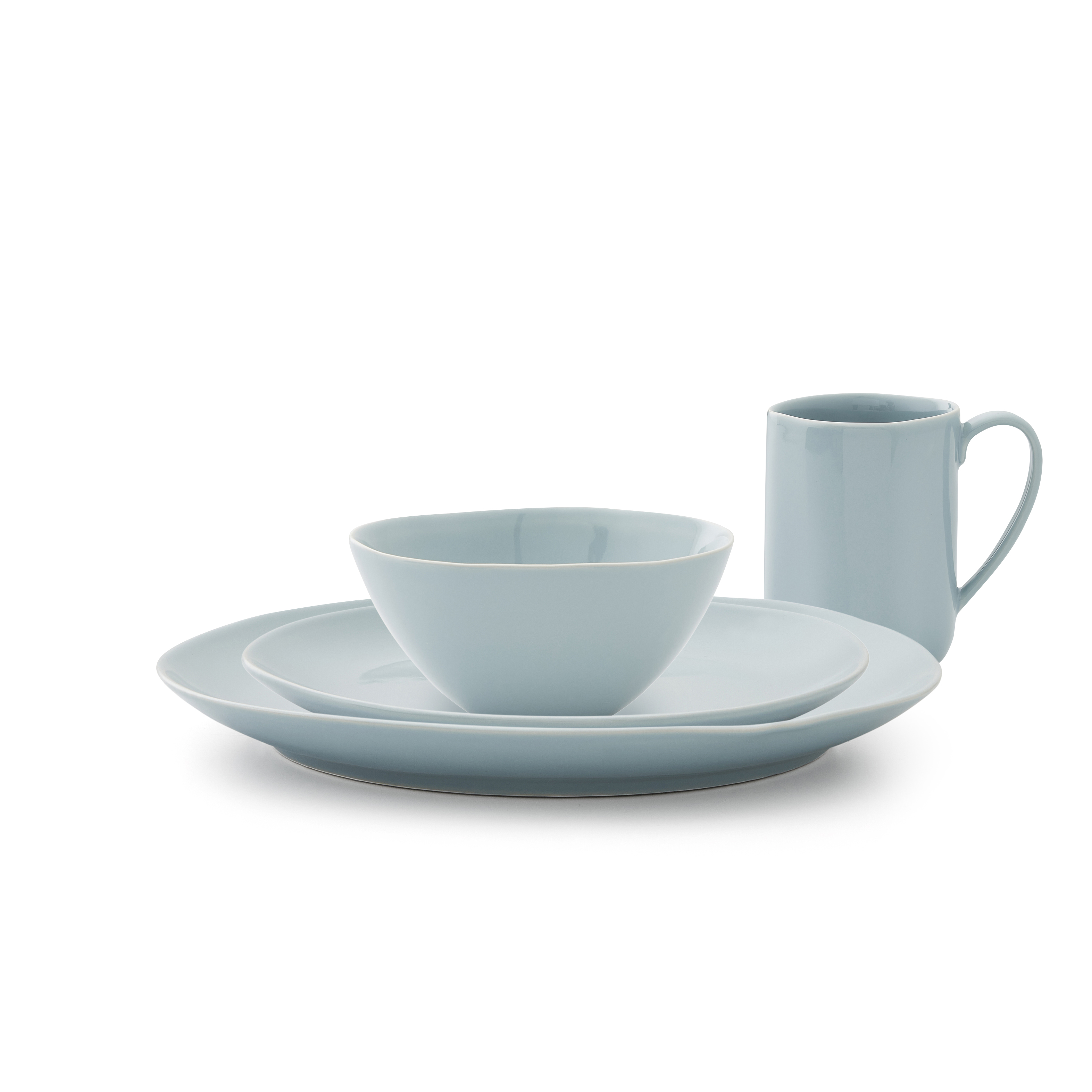 Sophie Conran Arbor 4 Piece Place Setting- Robin's Egg image number 0