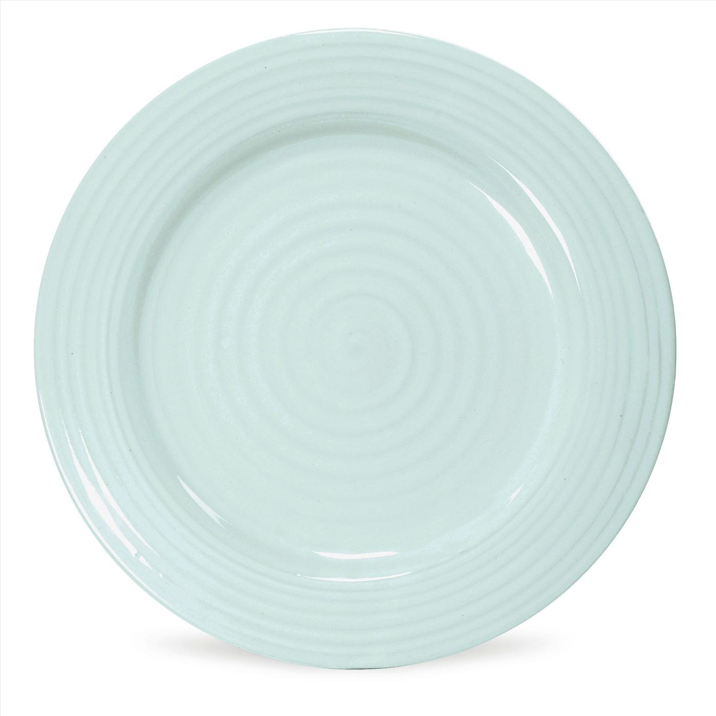 Portmeirion Sophie Conran Celadon Set of 4 Dinner Plates image number 0