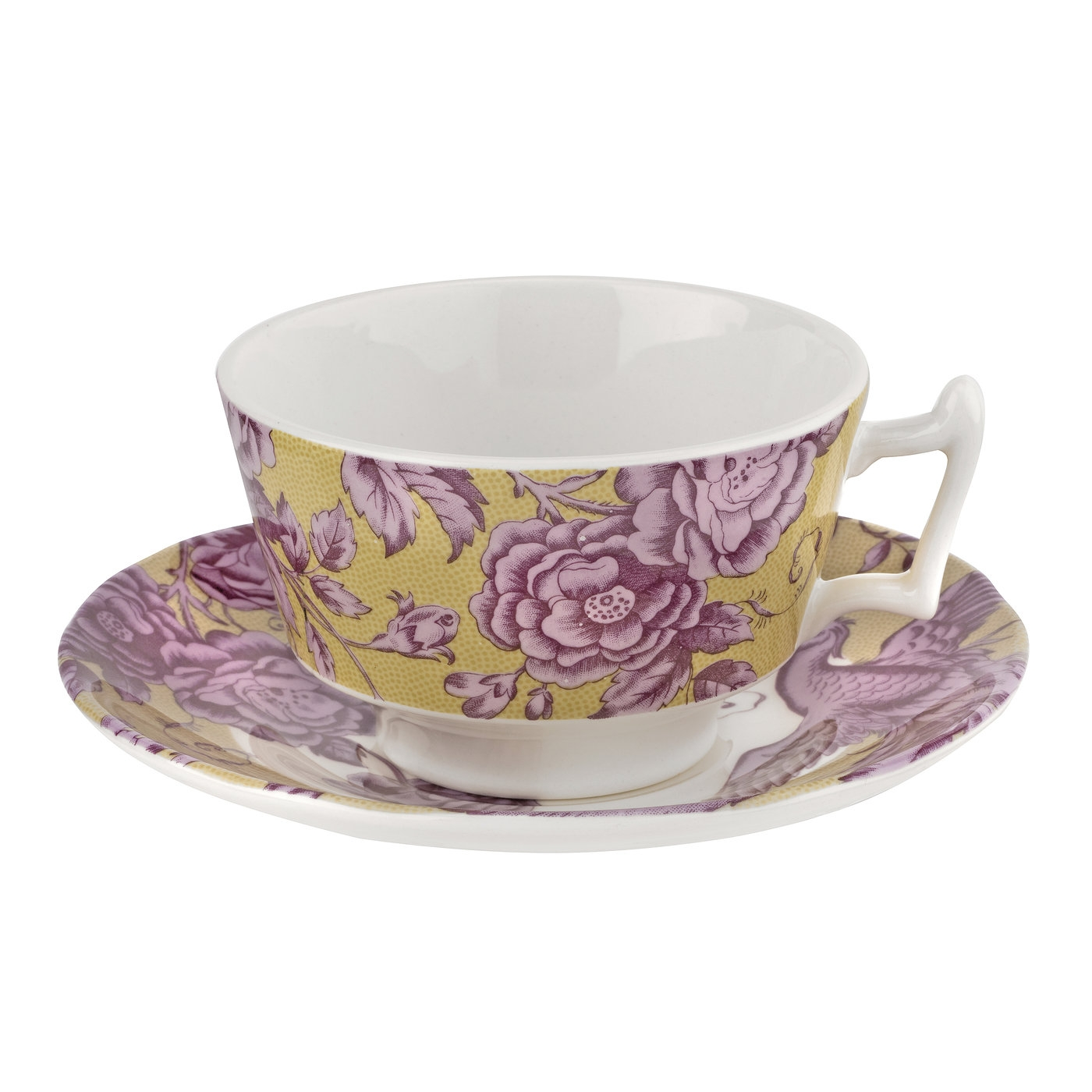 Spode Kingsley Ochre 7 oz Teacup  image number 0