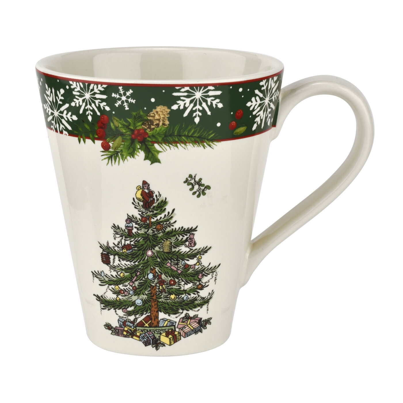Spode Christmas Tree 2019 Annual Mandarin 14oz Mug image number 0