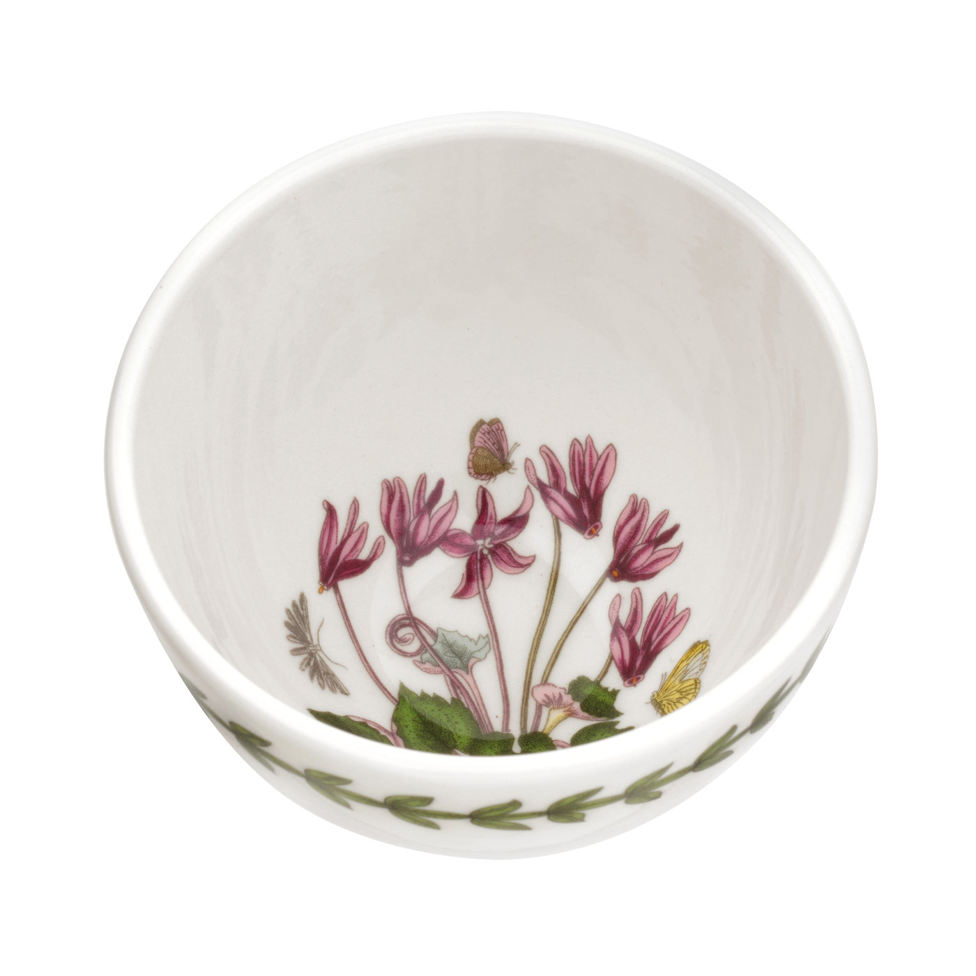 Botanic Garden Set of 4 Small Bowls (Cyclamen) image number 0
