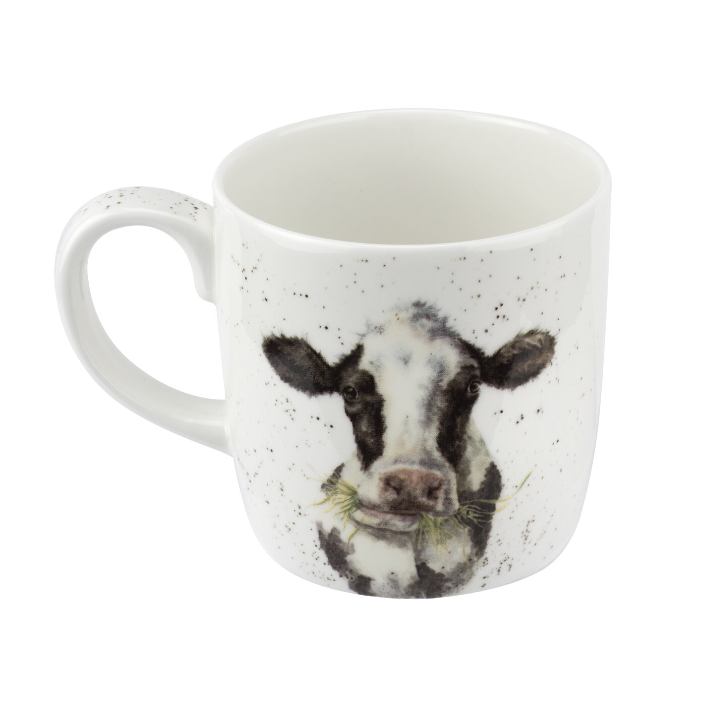 Royal Worcester Wrendale Designs Mug 14 Ounce Mooo (Cow) image number 1