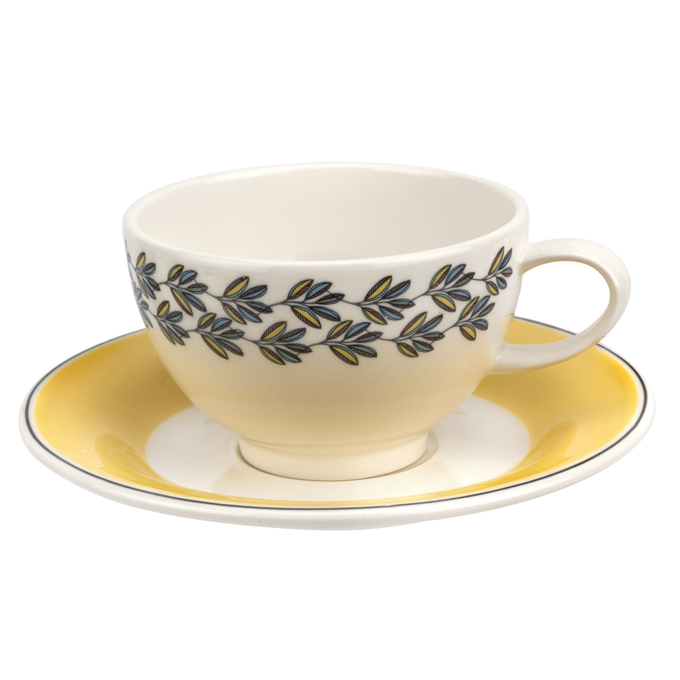 Portmeirion Westerly Yellow Teacup  image number 0
