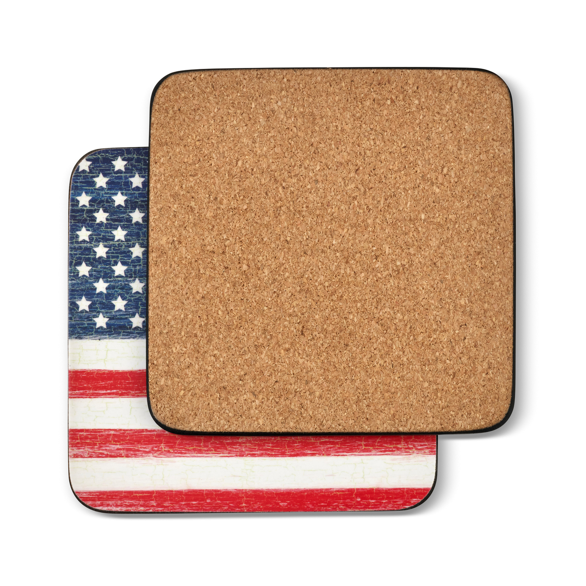 Pimpernel American Flag Coasters Set of 6 image number 1