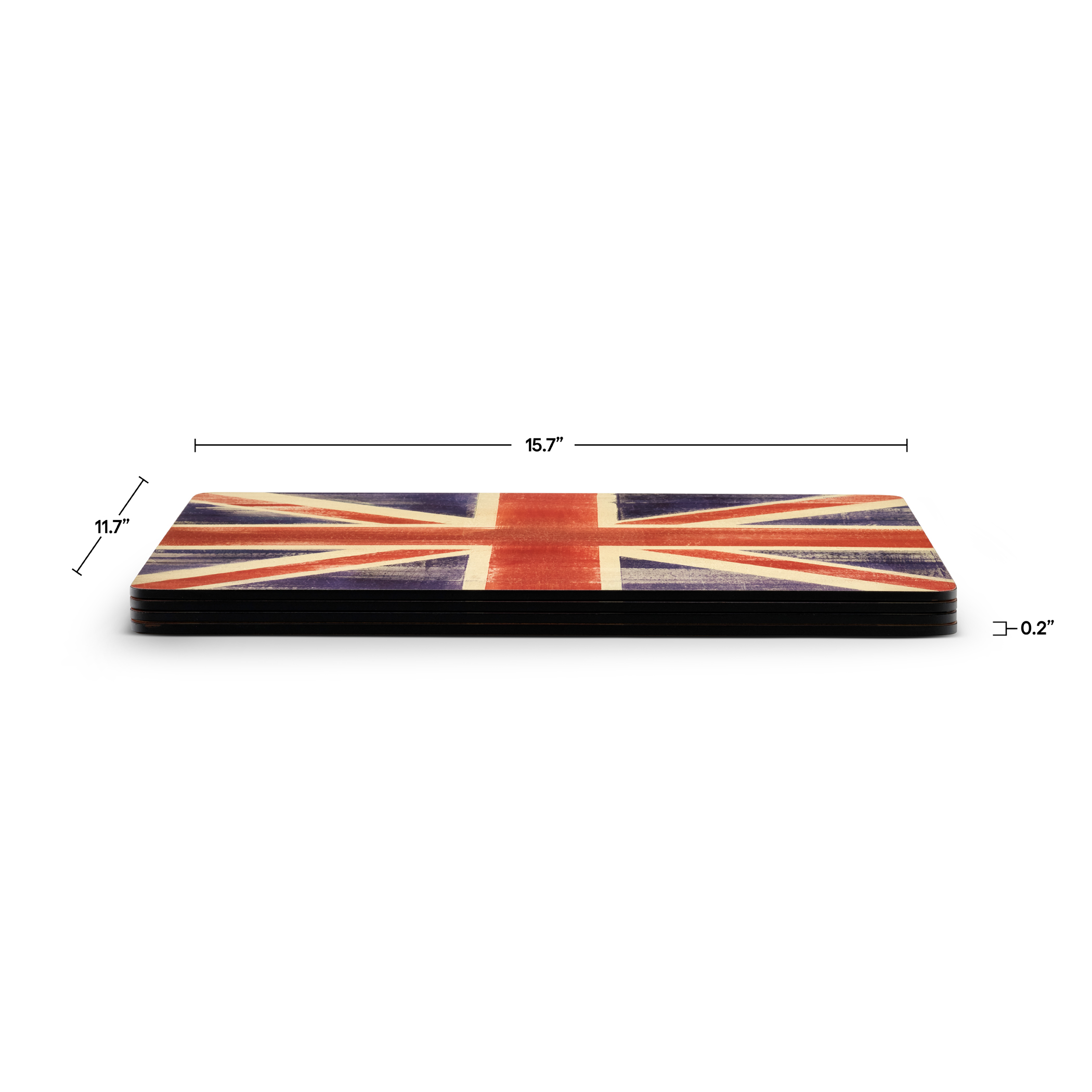 Pimpernel Union Jack Placemats Set of 4 image number 3