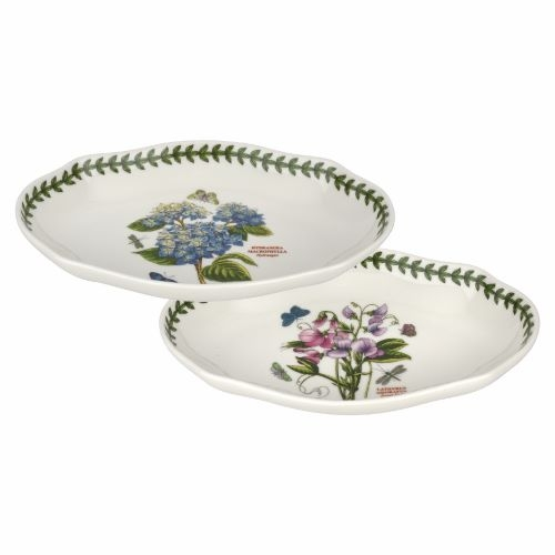 Portmeirion Botanic Garden Pickle Dish (Set of 2) image number 0