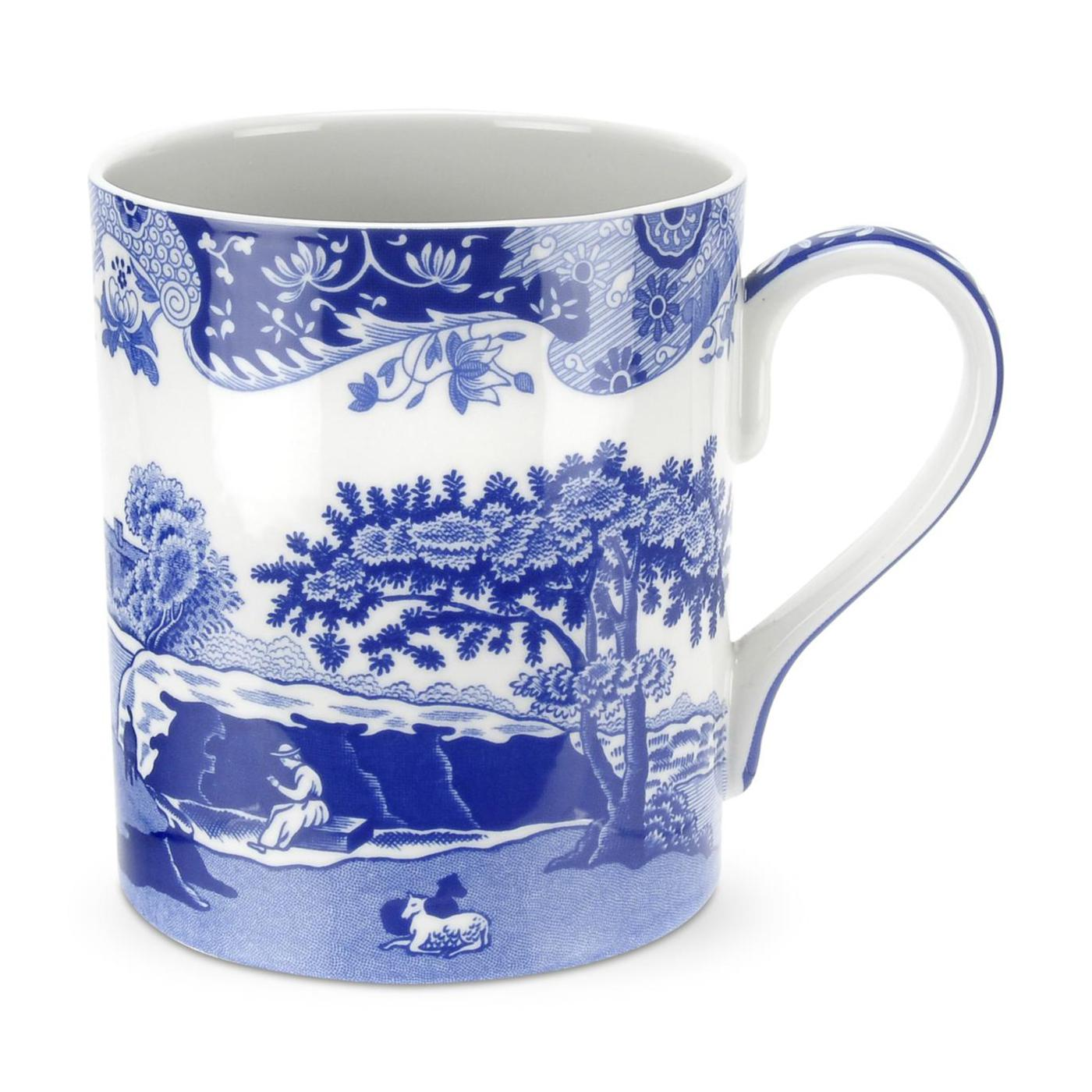 Spode Blue Italian Set of 4 16 ounce Mugs image number 0