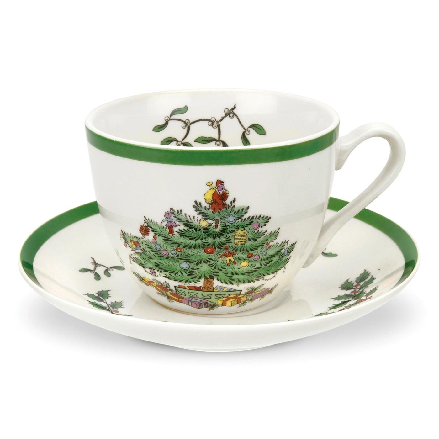 Spode Christmas Tree Teacup   image number 0