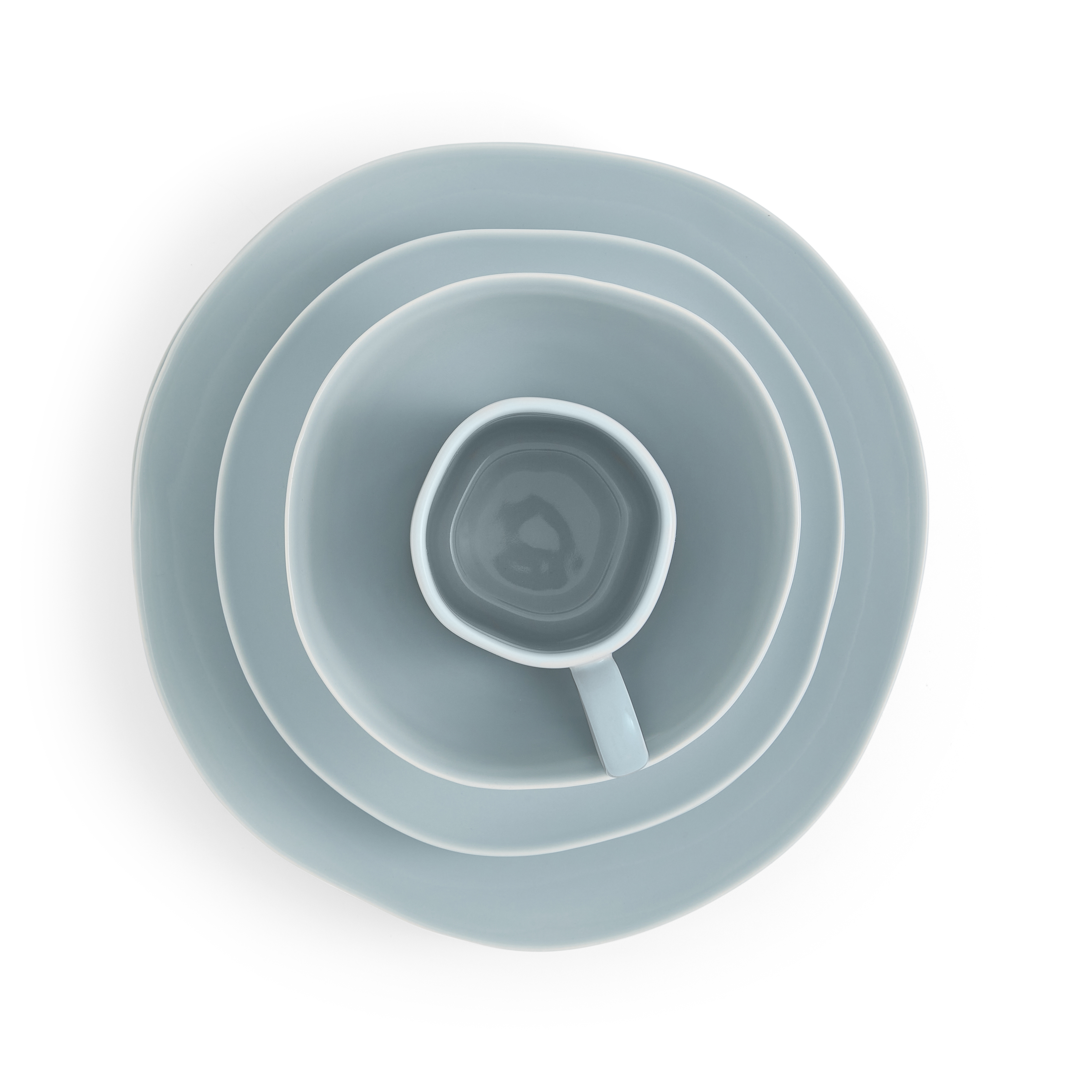 Sophie Conran Arbor 4 Piece Place Setting- Robin's Egg image number 1