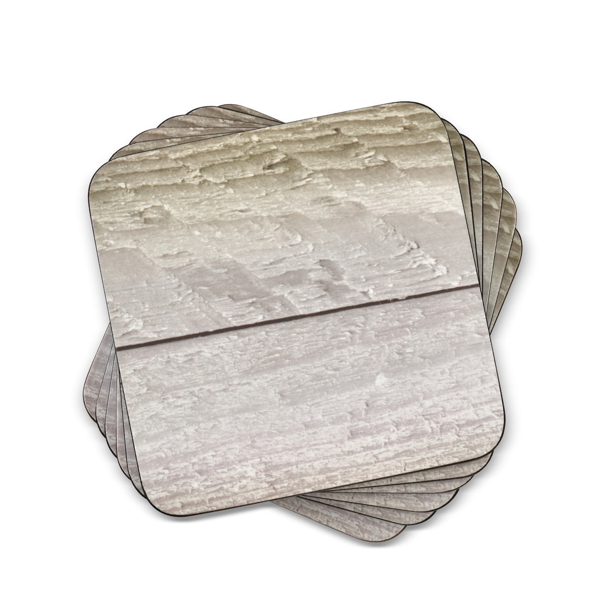Pimpernel Driftwood Coasters Set of 6 image number 0