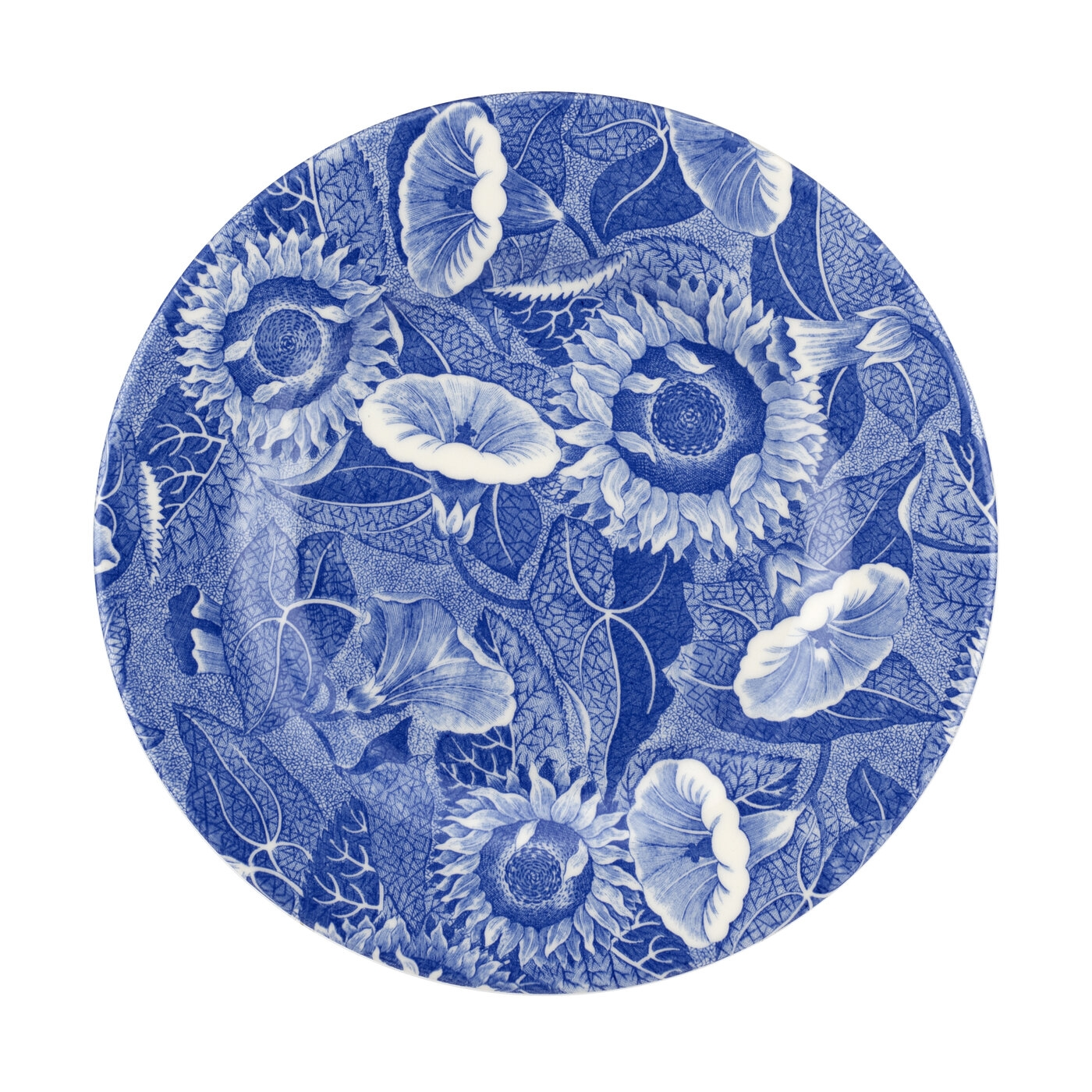 Spode Blue Room Sunflower 8.75 Inch Salad Plate image number 0