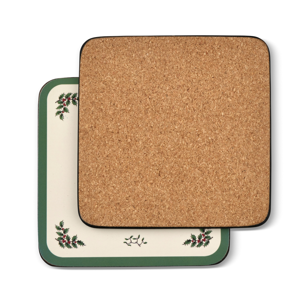 Pimpernel Christmas Tree Coasters Set of 6 image number 1