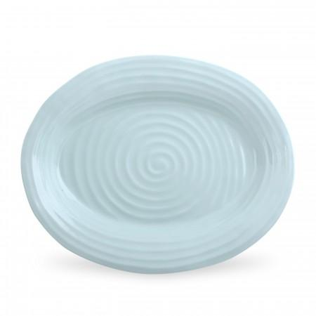 Portmeirion Sophie Conran Celadon Small Oval Platter image number 0