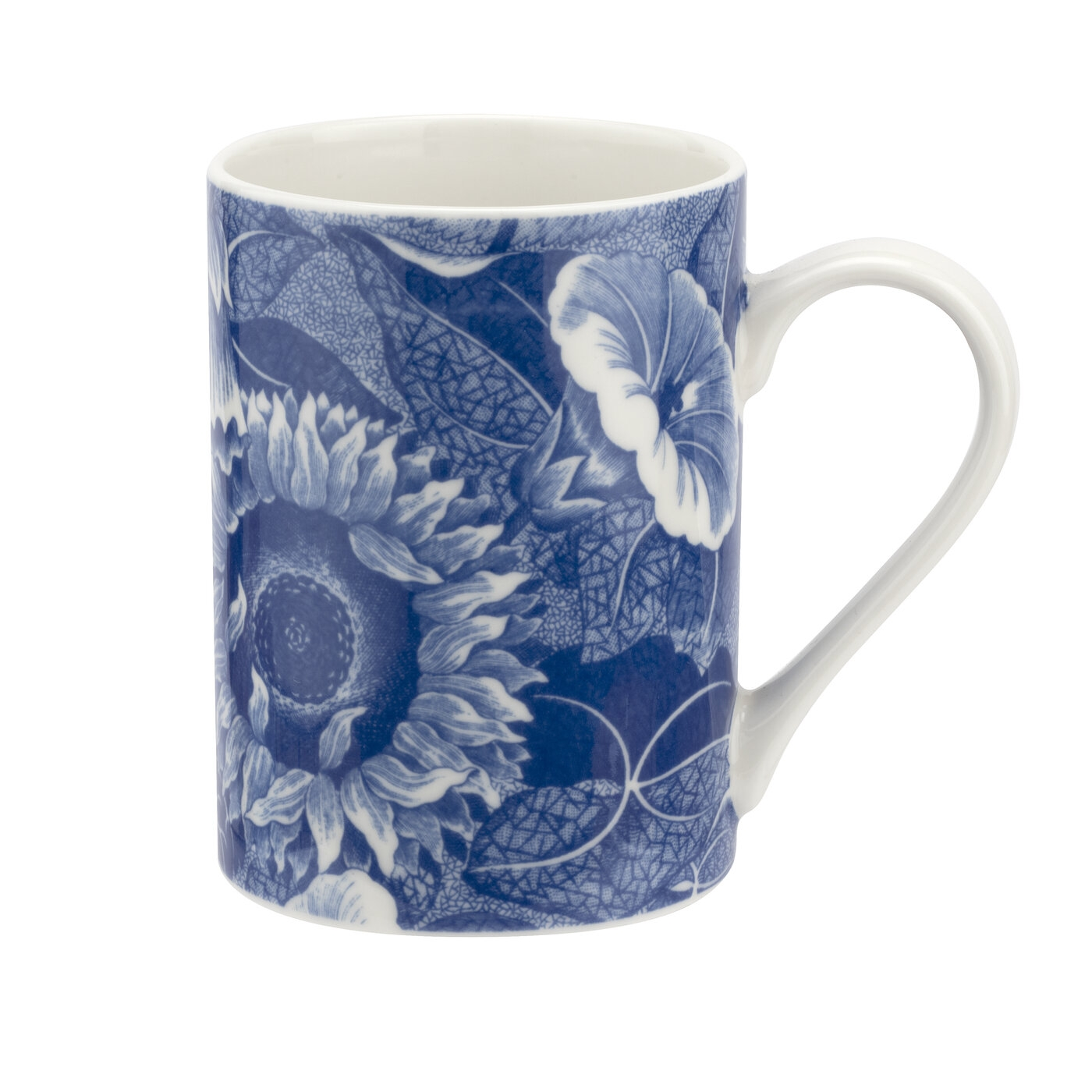 Pimpernel Blue Room Sunflower Set of 2 Mugs and Tray image number 1