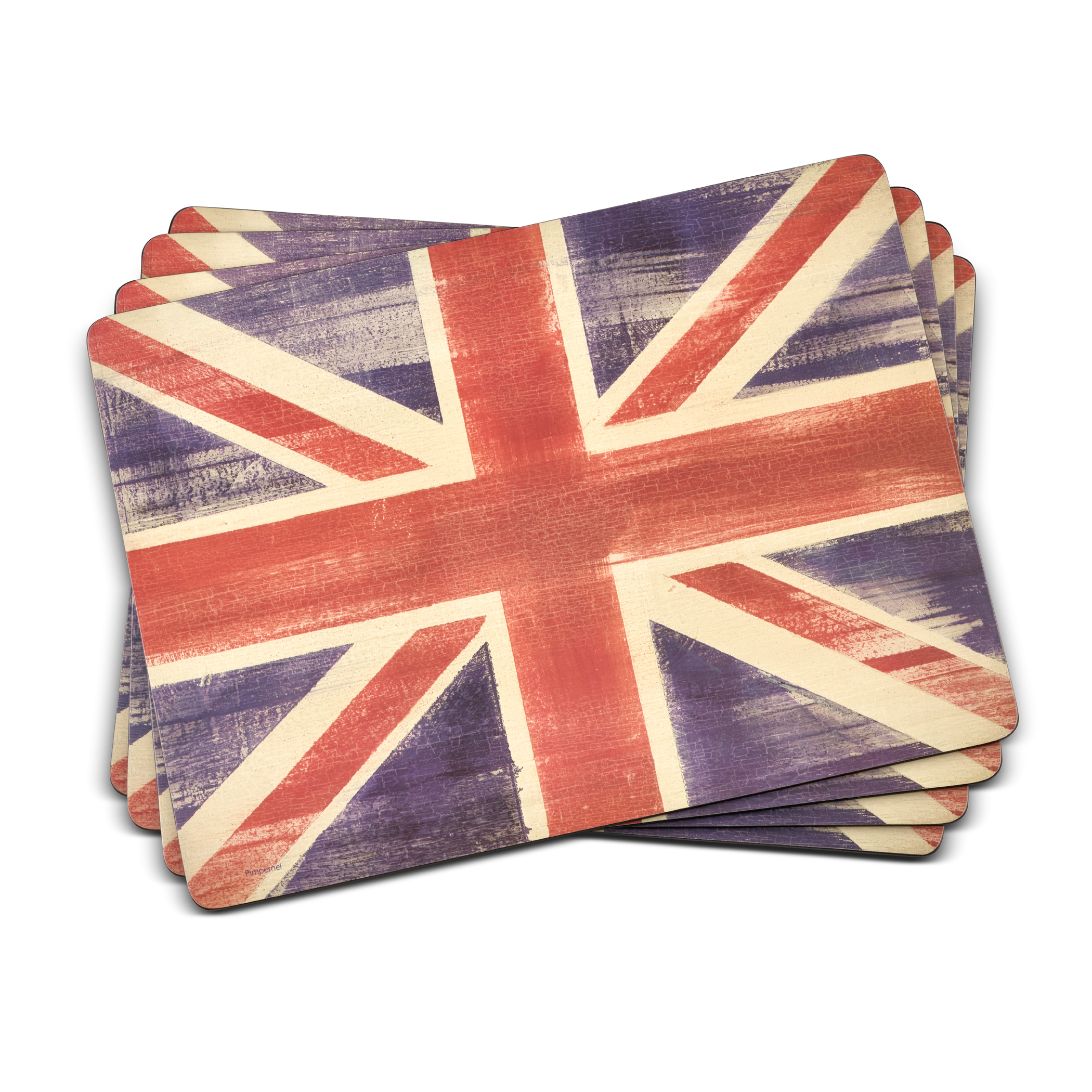 Pimpernel Union Jack Placemats Set of 4 image number 0