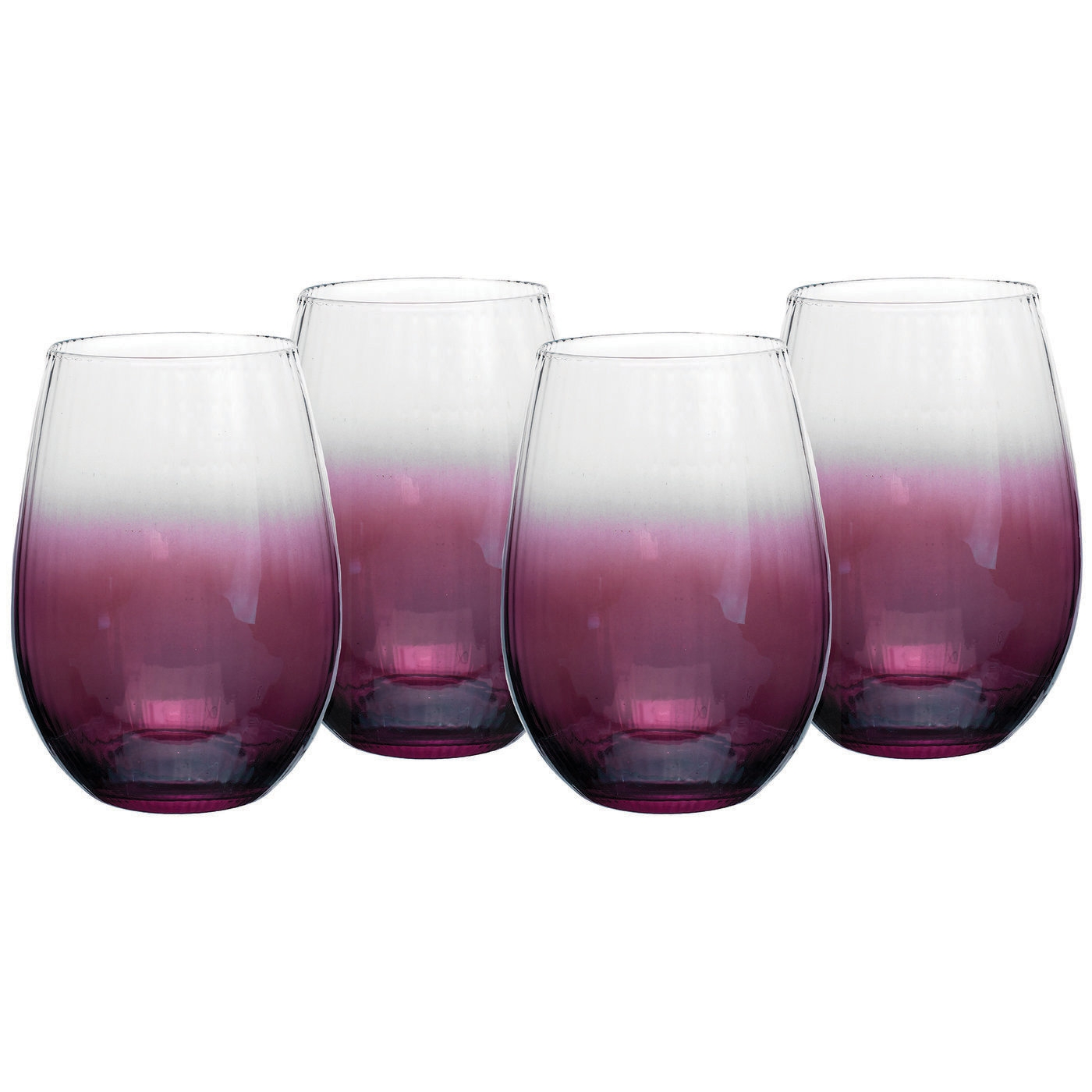 Spode Kingsley Stemless Wine Glass Set of 4 image number 0