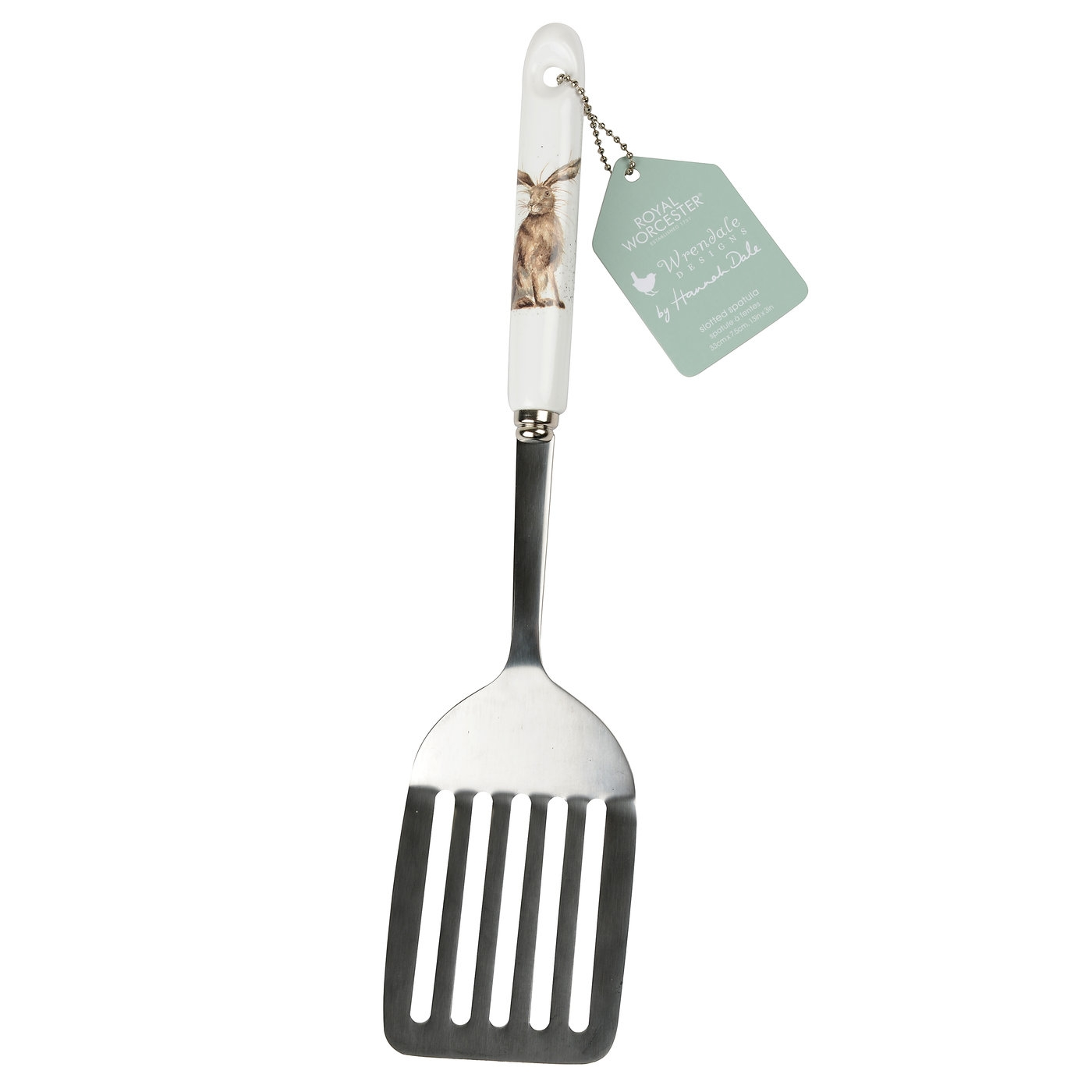 Royal Worcester Wrendale Designs Slotted Spatula Hare Design image number 0