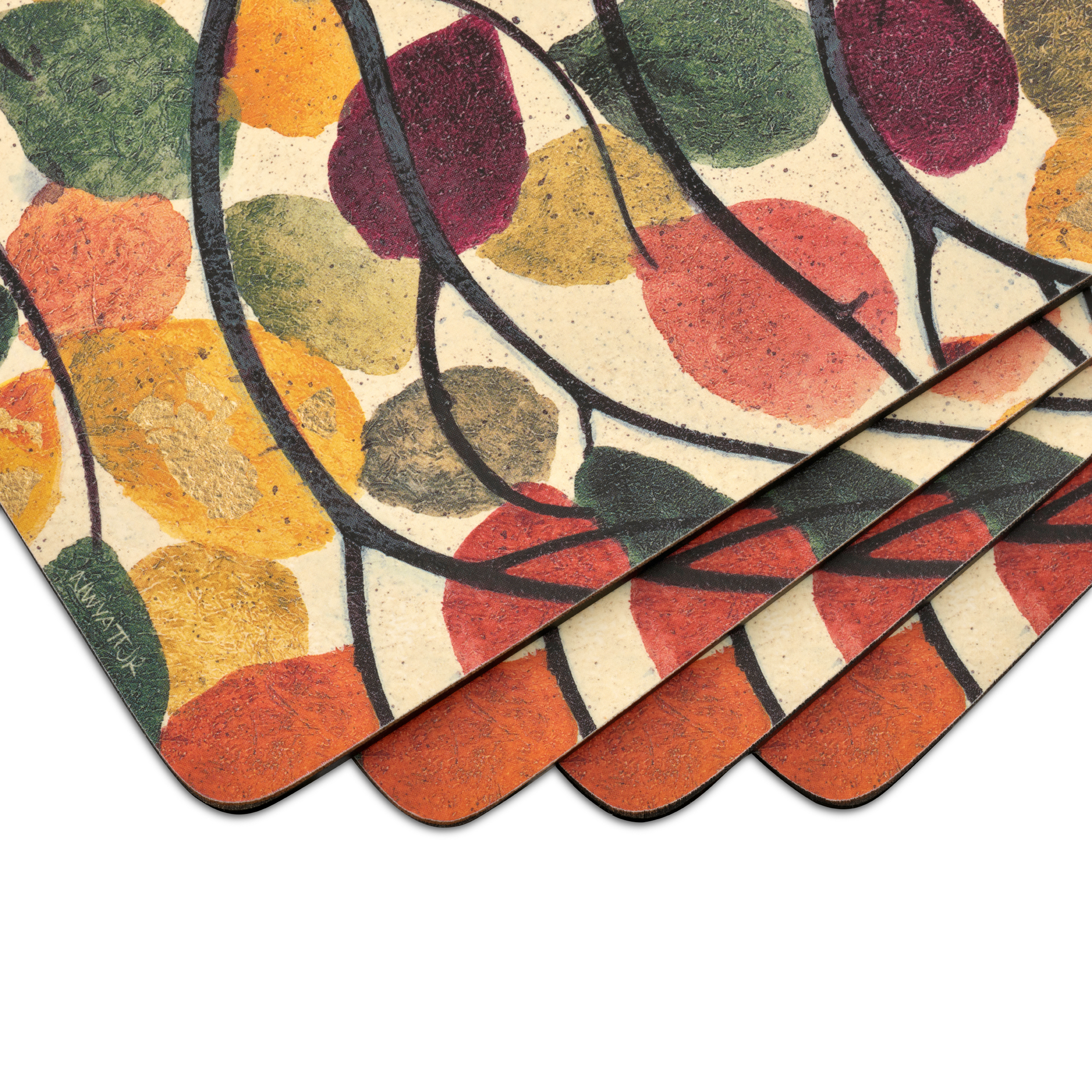 Pimpernel Dancing Branches Set of 4 Placemats image number 1