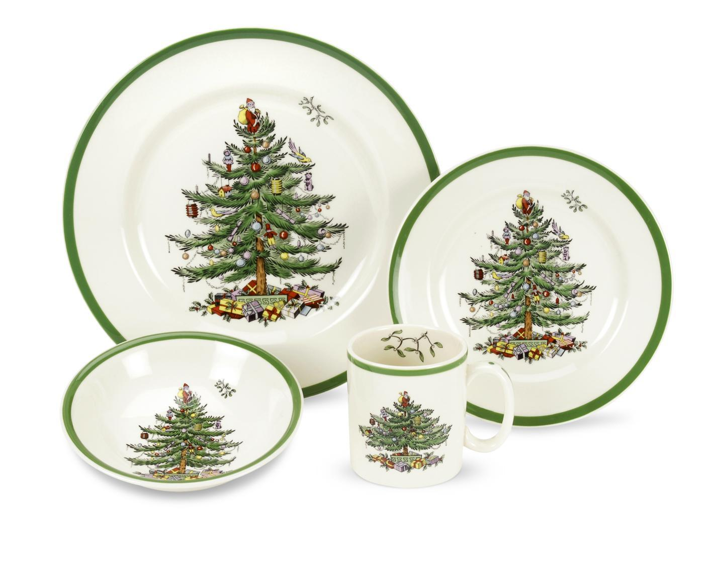 Spode Christmas Tree 4-Piece Placesetting image number 0