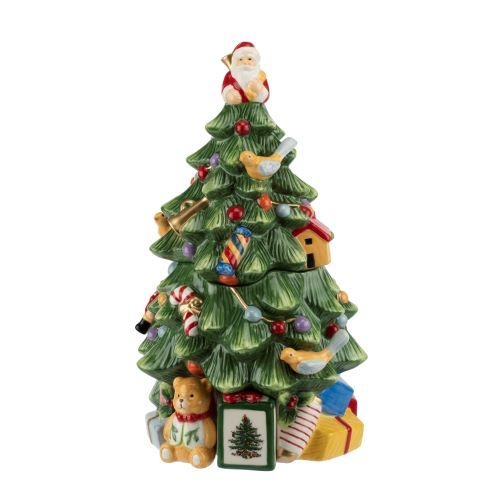 26,5 cm   Spode Christmas tree Porzellan unbenutzt Speiseteller ca