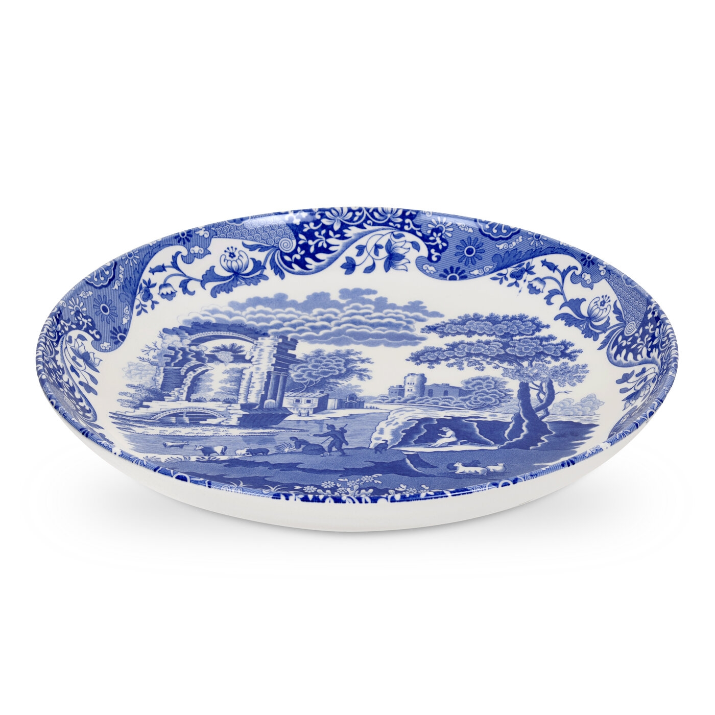 Spode Blue Italian 12 Inch Pasta Bowl image number 0