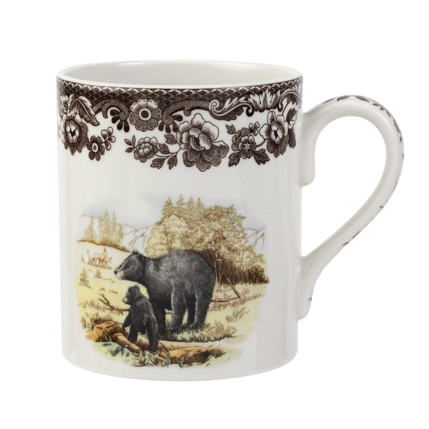 Spode Woodland Mug 16 oz (Black Bear) image number 0