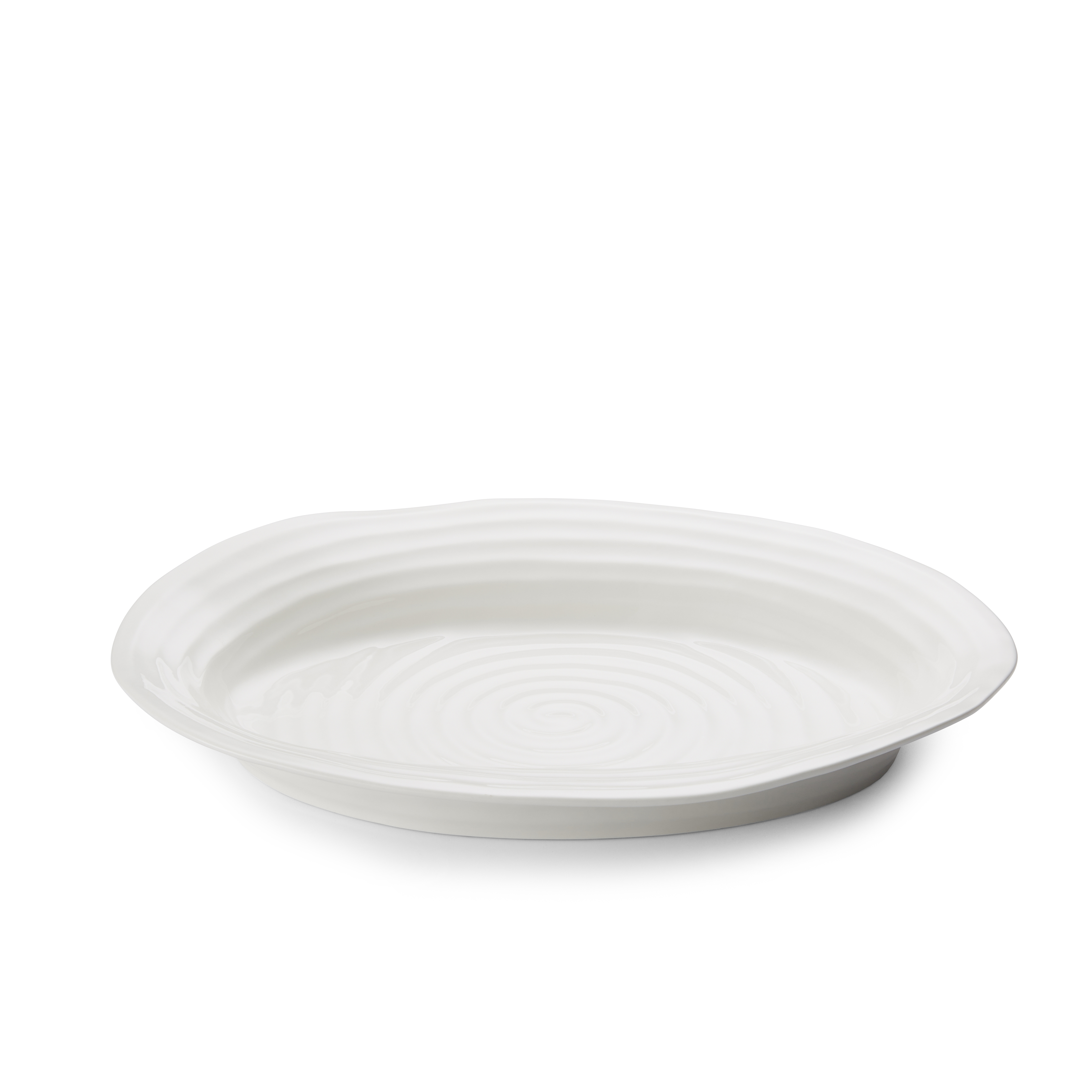 Portmeirion Sophie Conran White Medium Oval Platter image number 1