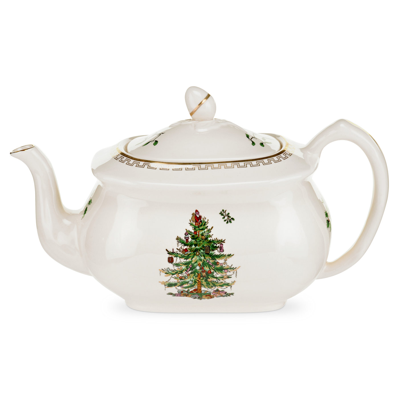 Spode Christmas Tree Gold Collection Teapot image number 0