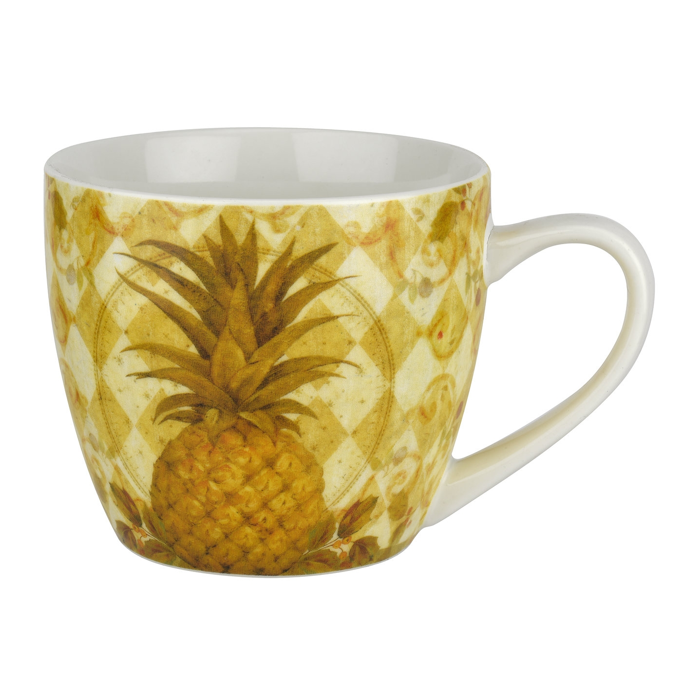 Pimpernel Golden Pineapple 16 oz Mug image number 0