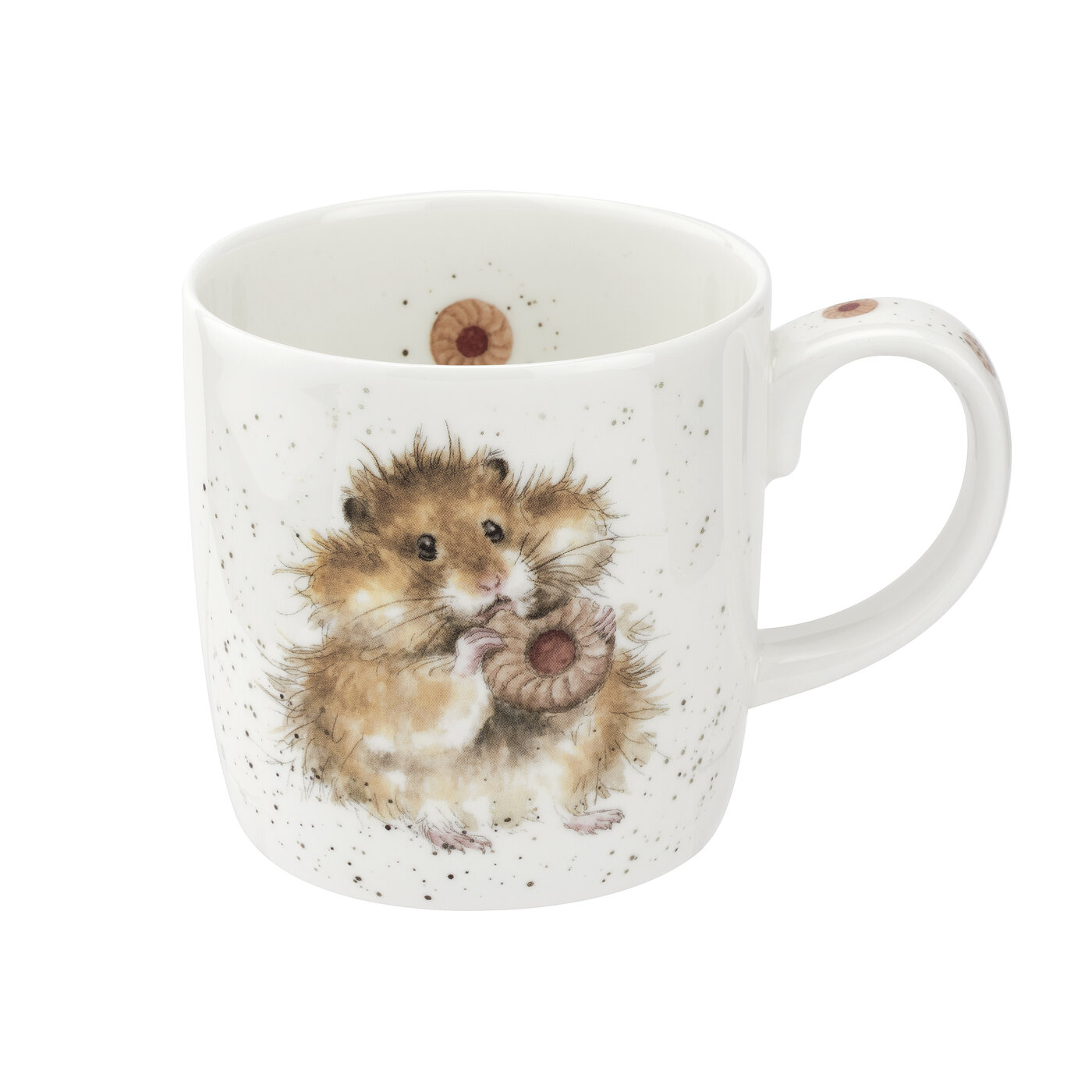 Royal Worcester Wrendale Designs MUG 14 OZ DIET STARTS TOMORROW (HAMSTER) image number 0