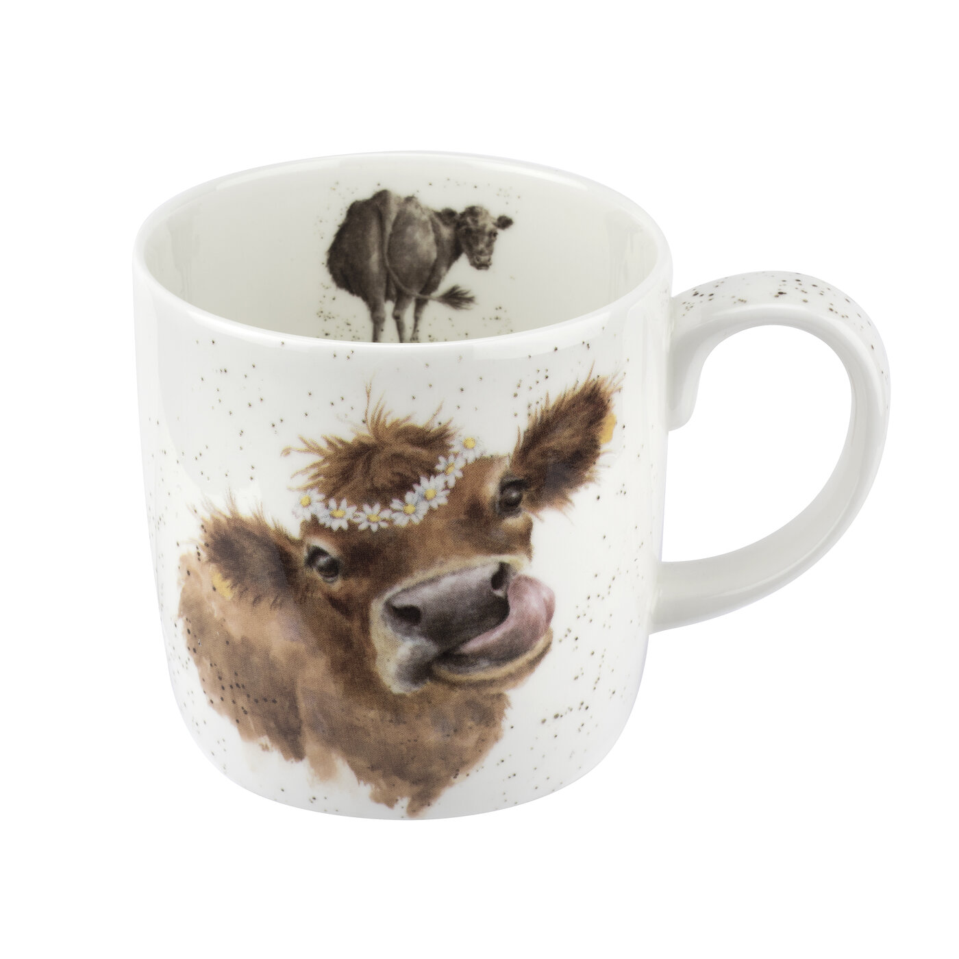 Royal Worcester Wrendale Designs Mug 14 Ounce Mooo (Cow) image number 0