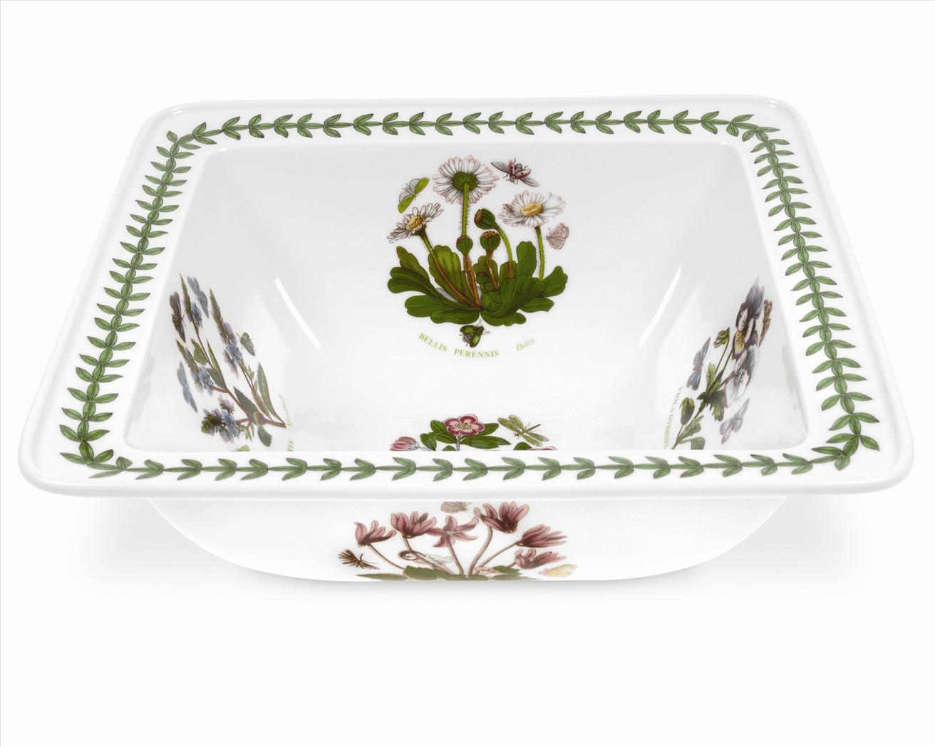 Botanic Garden 10.5 Inch Square Salad Bowl (Assorted Motifs) image number 0