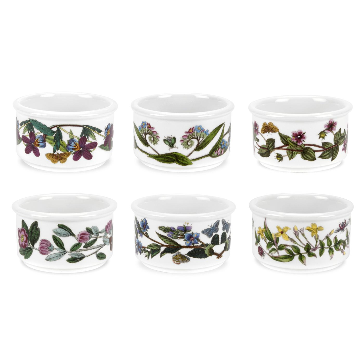 Botanic Garden Stackable Ramekins Set of 6 (Assorted Motifs) image number 0