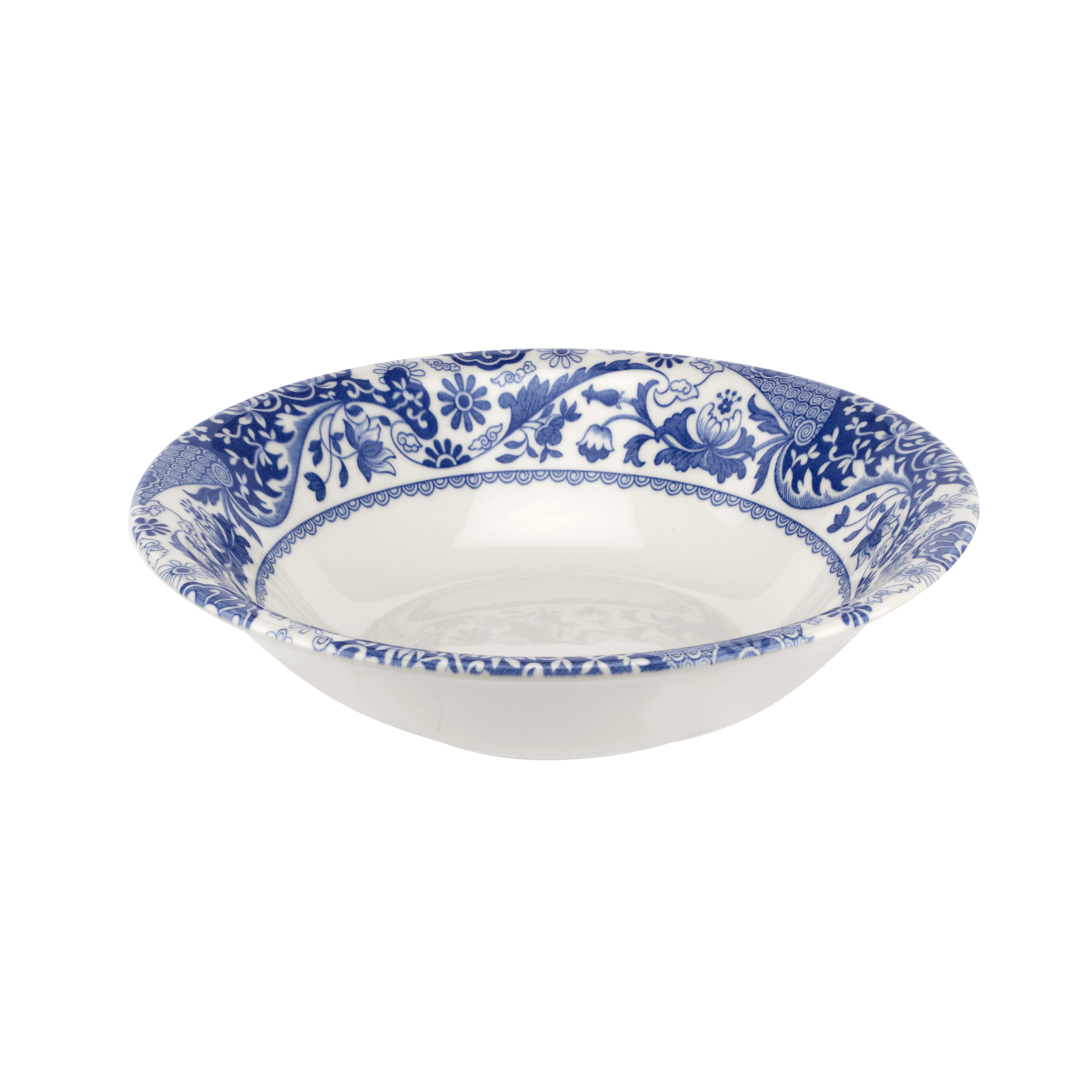 Spode Blue Italian Brocato 6.5 Inch Cereal Bowl image number 0
