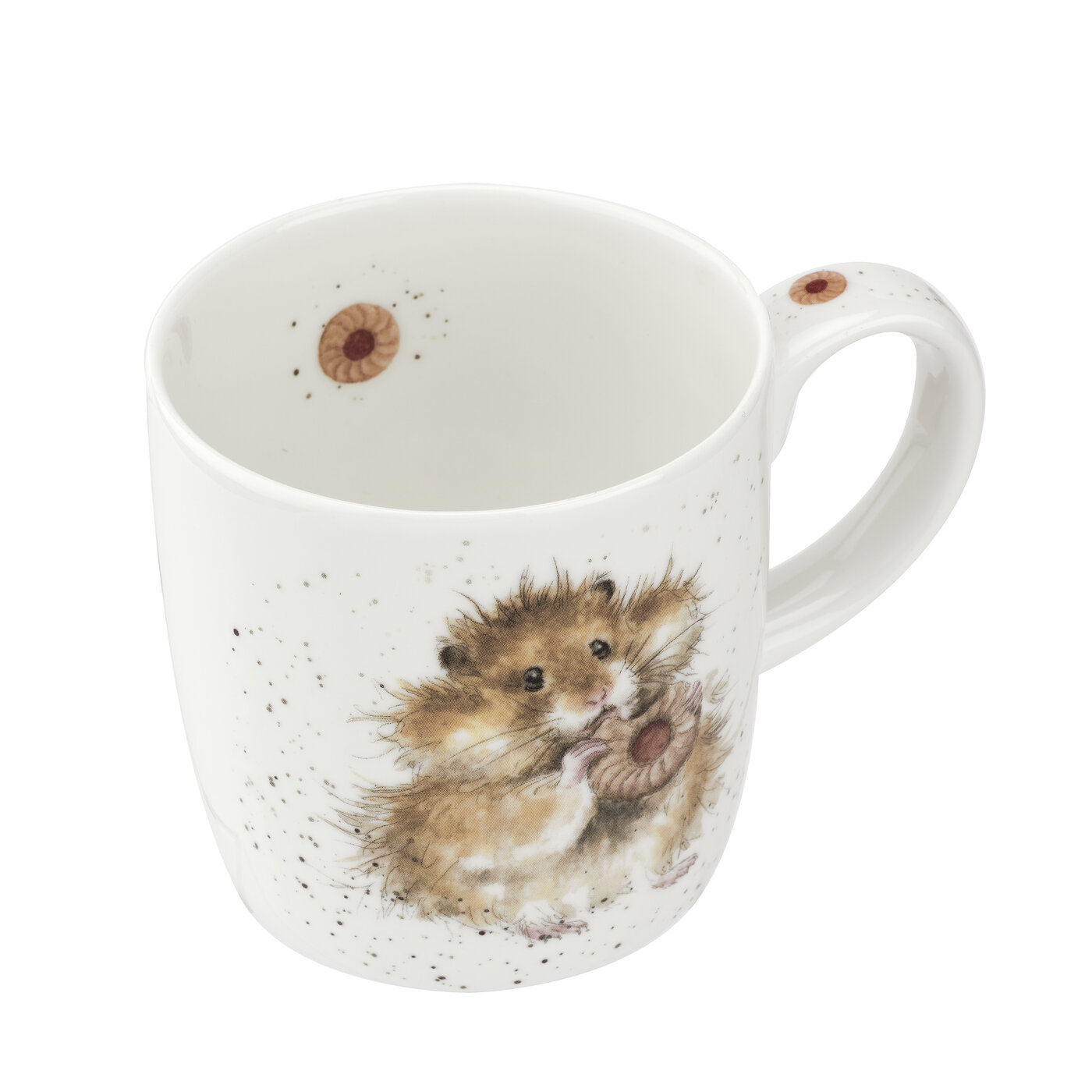 Royal Worcester Wrendale Designs MUG 14 OZ DIET STARTS TOMORROW (HAMSTER) image number 2