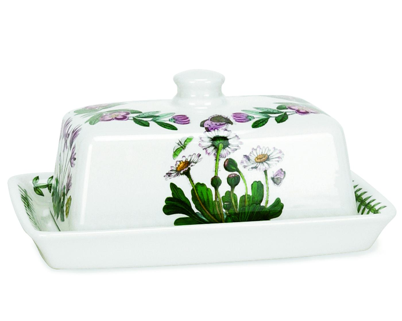 Botanic Garden 6 Inch Covered Butter Dish image number 0