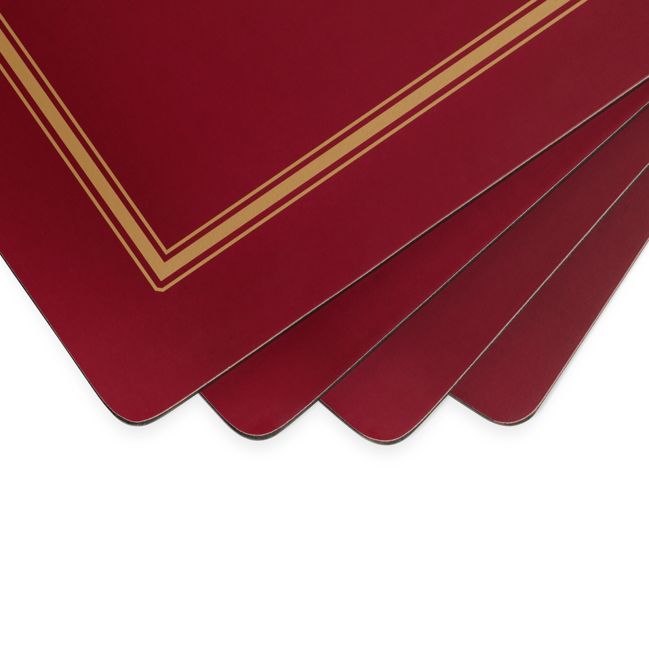 Pimpernel Classic Burgundy Placemats Set of 4 image number 1