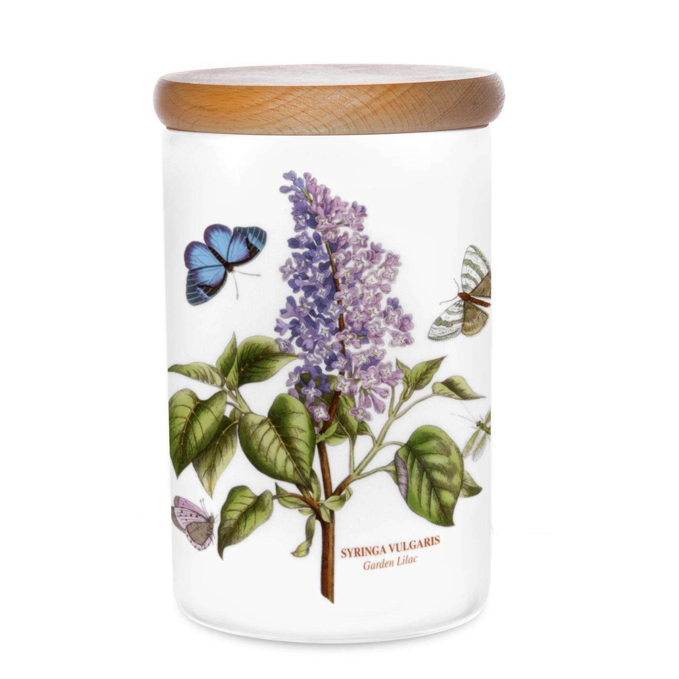 Botanic Garden 7 Inch Airtight Canister (Garden Lilac) image number 0